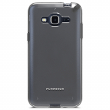 Samsung Galaxy J3 PureGear Slim Shell Case - Clear/Black