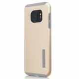 Samsung Galaxy S7 Incipio DualPro Series Case - Champagne/Light Gray