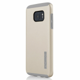Samsung Galaxy S7 Edge Incipio DualPro Series Case - Champagne/Light Gray