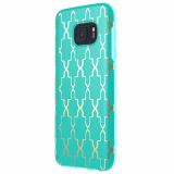 Samsung Galaxy S7 Incipio Design Series Case - Teal/Gold Maynard