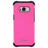 Samsung Galaxy S8 TekYa Rigel Series Case - Hot Pink/Black