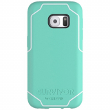 Samsung Galaxy S7 Griffin Survivor Journey Series  Case - Mint/White