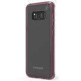 Samsung Galaxy S8 PureGear Slim Shell Pro Case - Clear/Pink