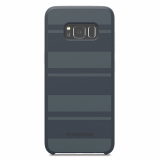 Samsung Galaxy S8 PureGear SoftTek Case - Blue with Stripes