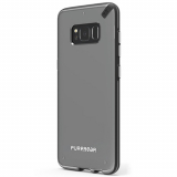Samsung Galaxy S8+ PureGear Slim Shell Case - Clear/Black