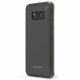 Samsung Galaxy S8+ PureGear Slim Shell Pro Case - Clear/Light Grey