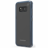 Samsung Galaxy S8+ PureGear Slim Shell Pro Case - Clear/Blue