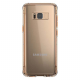 Samsung Galaxy S8 Griffin Survivor Clear Series Case - Gold