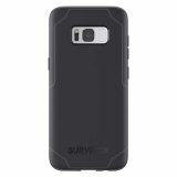 Samsung Galaxy S8 Griffin Survivor Strong Series Case - Black/Gray