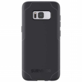 Samsung Galaxy S8+ Griffin Survivor Strong Series Case - Black/Gray