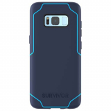 Samsung Galaxy S8+ Survivor Strong Series Case - Navy/Coral Blue
