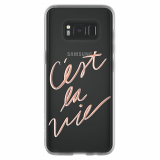 Samsung Galaxy S8 Incipio Design Glam Series Case - C'est La Vie