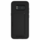 Samsung Galaxy S8 Incipio Stowaway Series Case - Black