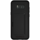 Samsung Galaxy S8+ Incipio Stowaway Series Case - Black