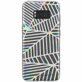 Samsung Galaxy S8+ Rebecca Minkoff Sheer Case Geometric Wall Clear/Holographic