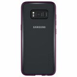 Samsung Galaxy S8 Incipio Octane Pure Series Case - Clear/Plum