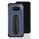 Samsung Galaxy S8+ Scooch Clipstic Pro Series Case - Steel Blue
