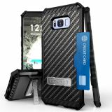 **PREORDER**Samsung Galaxy S8 Beyond Cell Tri Shield Case - Carbon Fiber