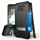 **NEW**Samsung Galaxy S8+ Beyond Cell Tri Shield Case - Carbon Fiber