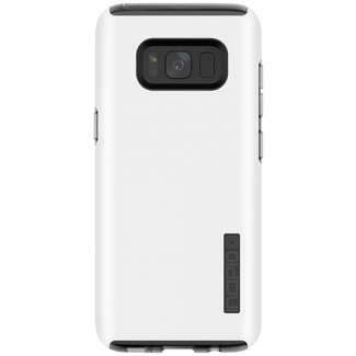 Samsung Galaxy S8+ Incipio DualPro Series Case- Iridescent White/Frosted