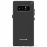 Samsung Galaxy Note 8 PureGear Slim Shell Case - Black/Black