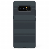 Samsung Galaxy Note 8 PureGear SoftTek Case - Midnight Blue Stripes