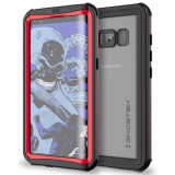 Samsung Galaxy S8 Ghostek Nautical Series Waterproof Case - Red