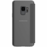 Samsung Galaxy S9 Incipio NGP Folio Series Case - Clear/Gray