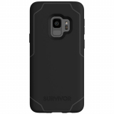 Samsung Galaxy S9 Griffin Survivor Strong Series Case - Black/Deep Grey