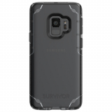 Samsung Galaxy S9 Griffin Tinit Survivor Strong Series Case - Smoke/Clear