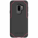 Samsung Galaxy S9+ Griffin Survivor Strong Series Case - Gray/Pink