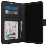 Samsung Galaxy S9 Skech Polo Book Series Case - Black