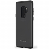 Samsung Galaxy S9+ PureGear Slim Shell Case - Clear/Black