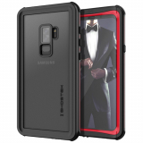 Samsung Galaxy S9+ Ghostek Nautical Series Waterproof Case - Red
