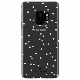 Samsung Galaxy S9 Kate Spade New York Protective Hardshell Case Scatter Dot Gold/Clear