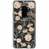 Samsung Galaxy S9+ Kate Spade New York Protective Hardshell Case Blossom Pink/Clear/Gold