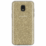 **NEW**Samsung Galaxy J3 2018 Incipio Design Classic Series Case - Champagne Glitter