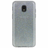 **NEW**Samsung Galaxy J3 2018 Incipio Design Classic Series Case - Iridescent White Glitter