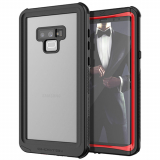 Samsung Galaxy Note 9 Ghostek Nautical Series Waterproof Case - Red