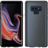 Samsung Galaxy Note 9 Pelican Adventurer Series Case - Metallic Silver/Dark Grey