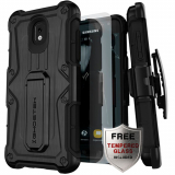 Samsung Galaxy J3 2018 Ghostek Iron Armor Series Case - Black