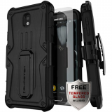 Samsung Galaxy J7 2018 Ghostek Iron Armor Series Case - Black