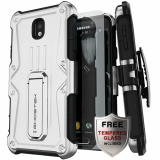 Samsung Galaxy J7 2018 Ghostek Iron Armor Series Case - White
