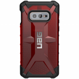 **NEW**Samsung Galaxy S10e Urban Armor Gear Plasma Case (UAG) - Magma (Transparent Red)