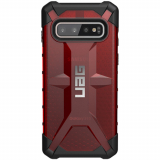 Samsung Galaxy S10 Urban Armor Gear Plasma Case (UAG) - Magma (Transparent Red)