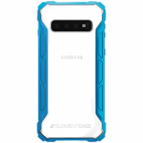 Samsung Galaxy S10 Element Case Rally Series Case - Blue/Clear
