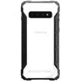 Samsung Galaxy S10 Element Case Rally Series Case - Black/Clear