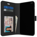 Samsung Galaxy S10 Skech Polo Book Series Case - Black
