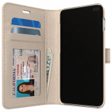 Samsung Galaxy S10 Skech Polo Book Series Case - Champagne