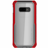 Samsung Galaxy S10e Ghostek Cloak 4 Series Case - Red/Clear